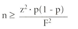 steekproef formule oneindige populatie